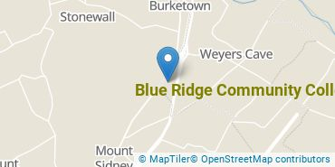 Location of Blue Ridge Community College