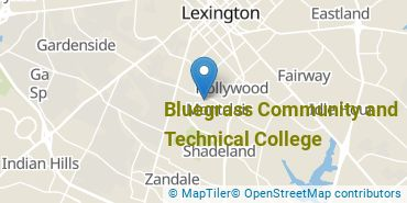 Location of Bluegrass Community and Technical College