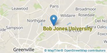 Location of Bob Jones University