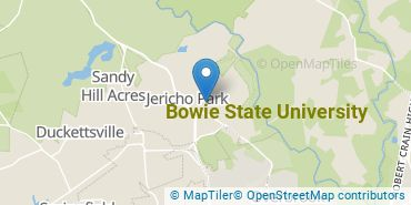 Location of Bowie State University