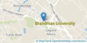 Location of Brandman University