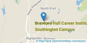 Location of Branford Hall Career Institute - Southington Campus