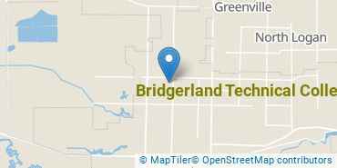Location of Bridgerland Technical College
