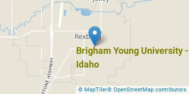 Location of Brigham Young University - Idaho