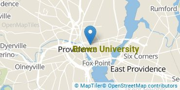 Location of Brown University