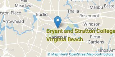 Location of Bryant & Stratton College - Virginia Beach