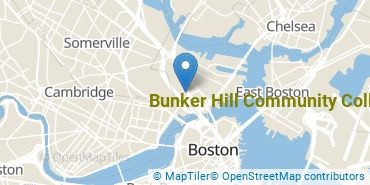 Location of Bunker Hill Community College