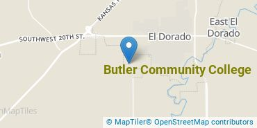 Location of Butler Community College
