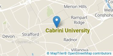 Location of Cabrini University