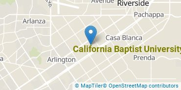 Location of California Baptist University