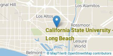Location of California State University - Long Beach