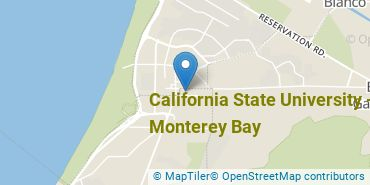 Location of California State University - Monterey Bay