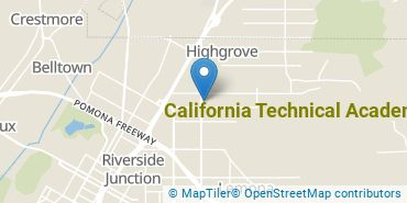 Location of California Technical Academy