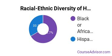 Racial-Ethnic Diversity of Health Sciences & Services Majors at Cambridge College
