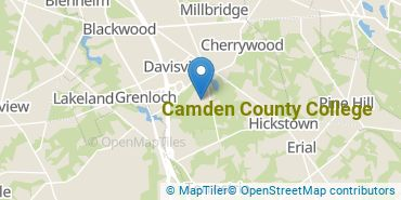 Location of Camden County College