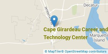 Location of Cape Girardeau Career and Technology Center