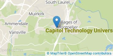 Location of Capitol Technology University