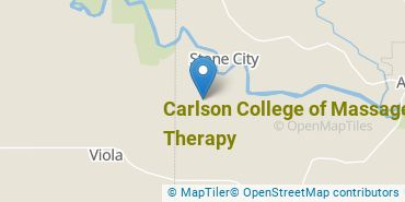 Location of Carlson College of Massage Therapy