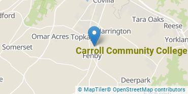 Location of Carroll Community College