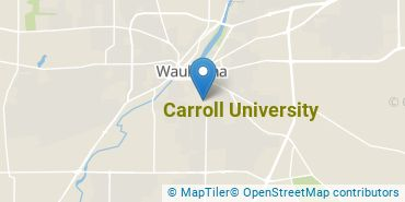 Location of Carroll University