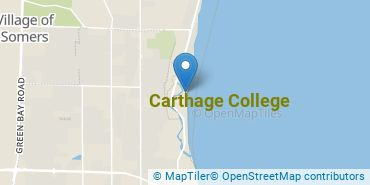 Location of Carthage College