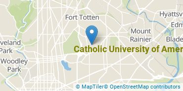 Location of Catholic University of America