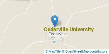 Location of Cedarville University
