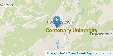 Location of Centenary University