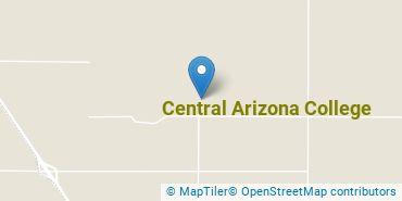 Location of Central Arizona College