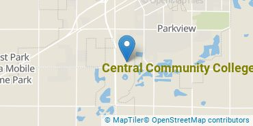 Location of Central Community College