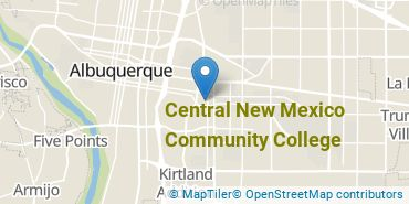 Location of Central New Mexico Community College