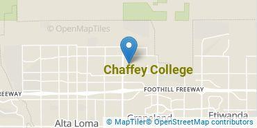 Location of Chaffey College