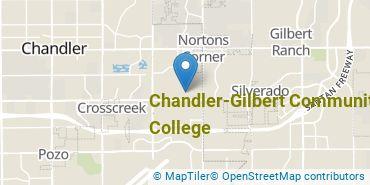 Location of Chandler-Gilbert Community College