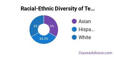 Racial-Ethnic Diversity of Teacher Education Subject Specific Majors at Chapman University