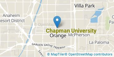 Location of Chapman University