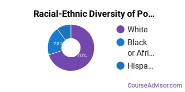 Racial-Ethnic Diversity of Political Science & Government Majors at Charleston Southern University