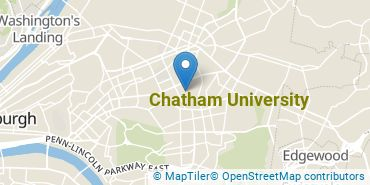 Location of Chatham University