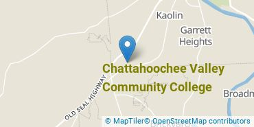 Location of Chattahoochee Valley Community College