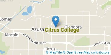 Location of Citrus College