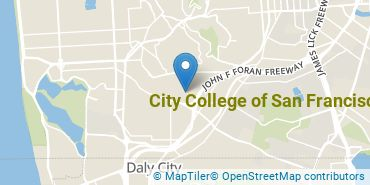 Location of City College of San Francisco