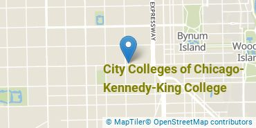 Location of City Colleges of Chicago - Kennedy-King College