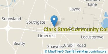 Location of Clark State Community College