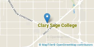 Location of Clary Sage College