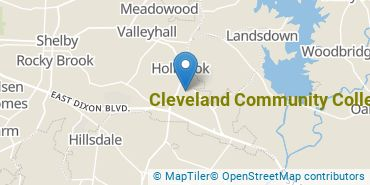 Location of Cleveland Community College