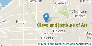 Location of Cleveland Institute of Art