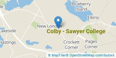 Location of Colby - Sawyer College