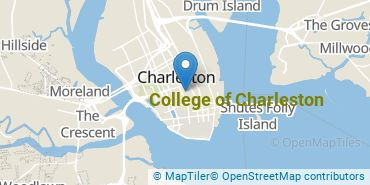 Location of College of Charleston
