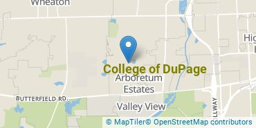 Location of College of DuPage