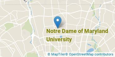 Location of Notre Dame of Maryland University