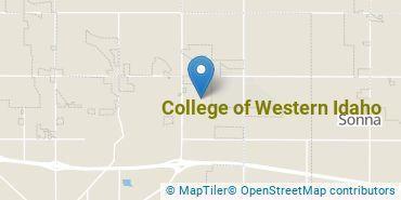 Location of College of Western Idaho
